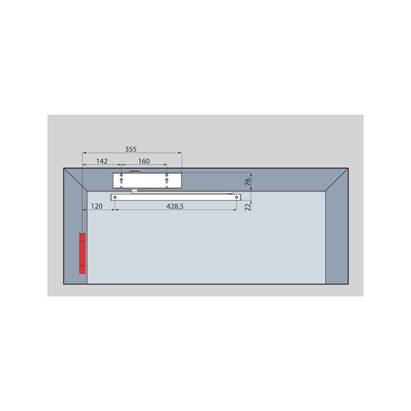 Türschließer GTS  630 mit Gleitschiene - 5