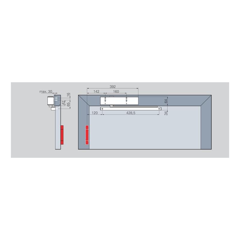 Türschließer GTS 690 mit Gleitschiene - 4