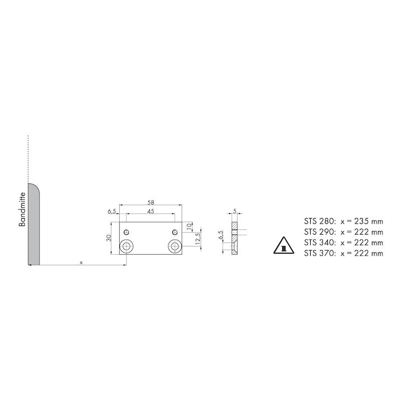 Adaptionsprofil - ZB-ADAPTERPROFIL-TRSHL/SHERGESTNG