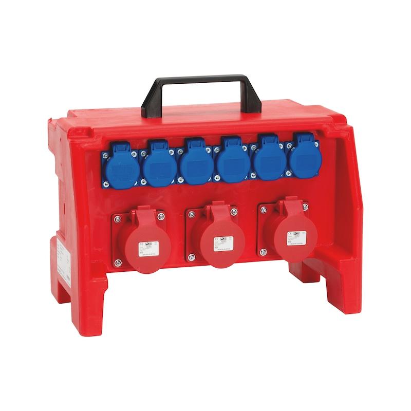 Kunststoff-Steckdosenverteiler WSDV+ - STROMVERT-KST-WSDV1PLUS