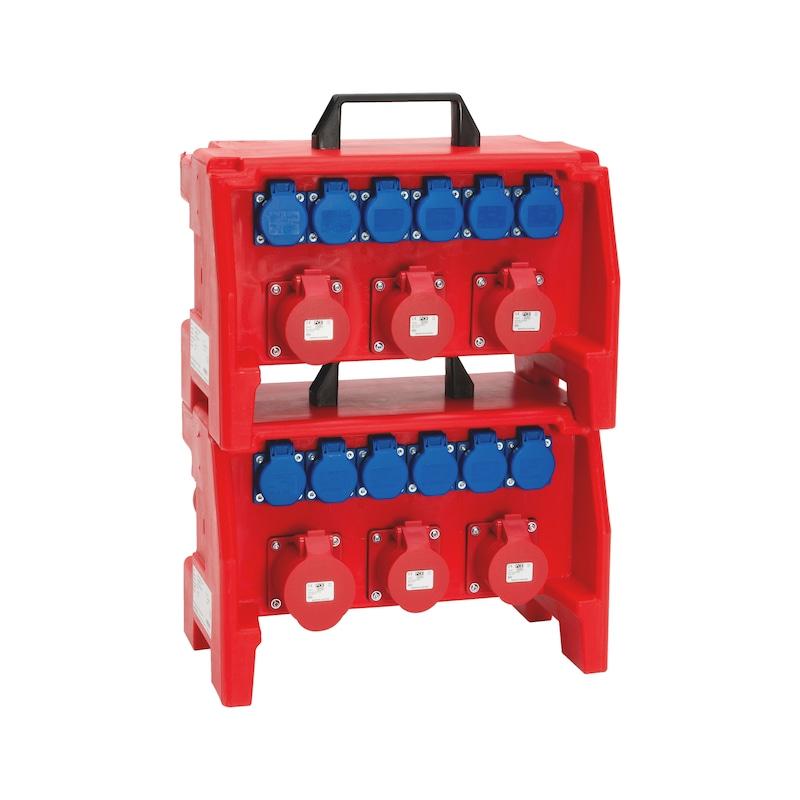 Kunststoff-Steckdosenverteiler WSDV+ - STROMVERT-KST-WSDV2PLUS