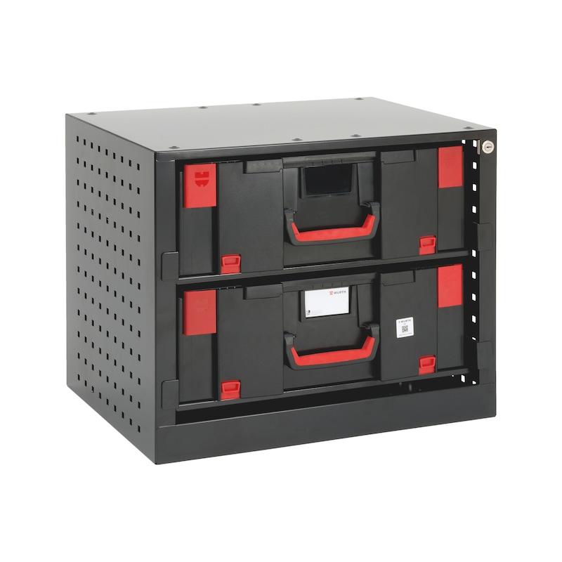 System-Stapelschrank für ORSY<SUP>®</SUP> System-Koffer 8.4.3 - 2