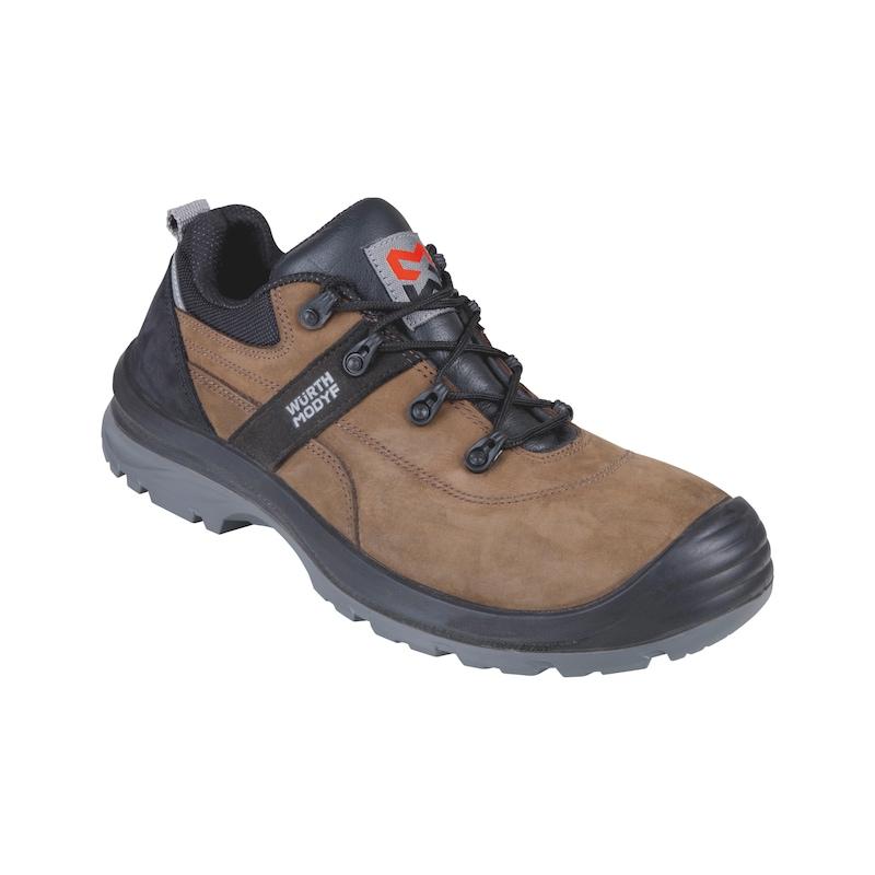 Chaussures sécurité basses S3 Corvus, cuir nubuck pour