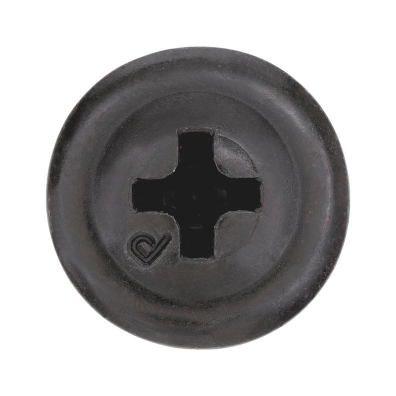 Bohrschraube Linsenkopf mit Bund und Kreuzschlitz H pias<SUP>®</SUP> - 3