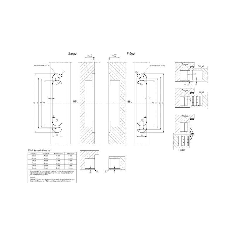 Türband VLB 100 3 D Design für Belastungen bis 120 kg - 3