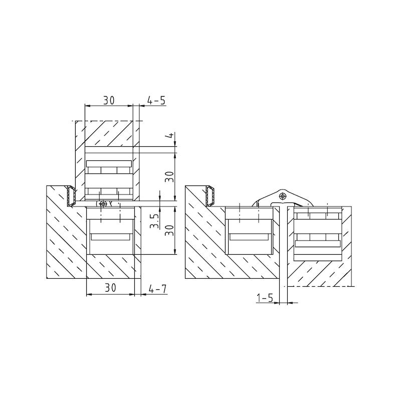 Türband VLB 100 3 D Design für Belastungen bis 120 kg - 4