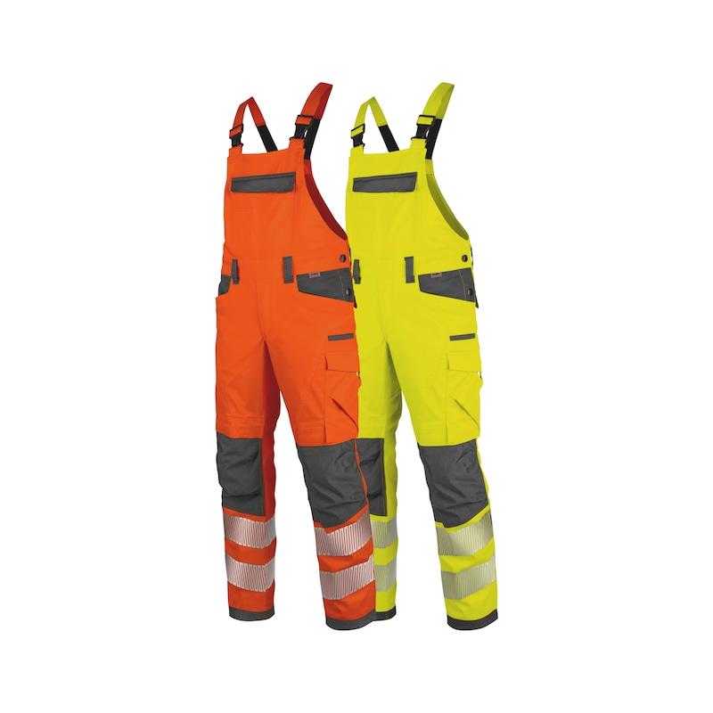 Neon Warnschutz Latzhose Klasse 2