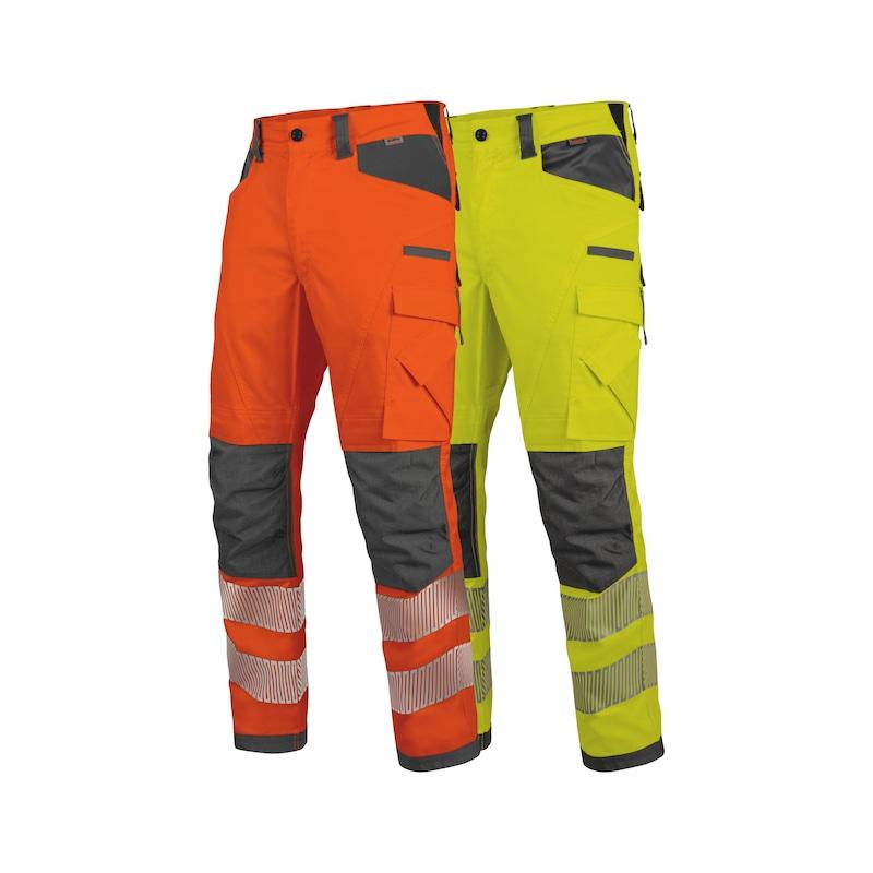Neon Warnschutz Winter Bundhose Klasse 2