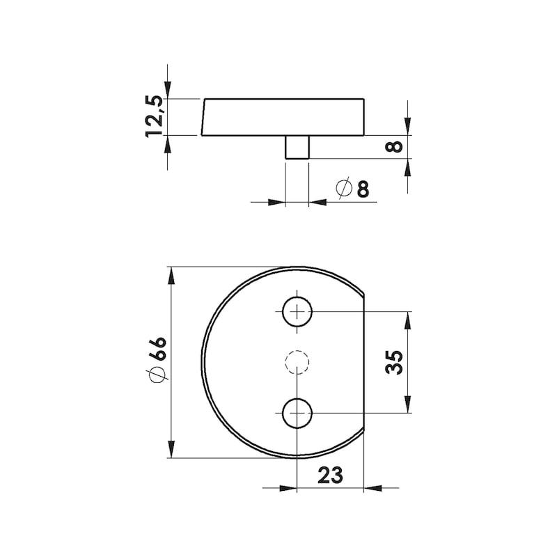 Unterlegplatte  - 2