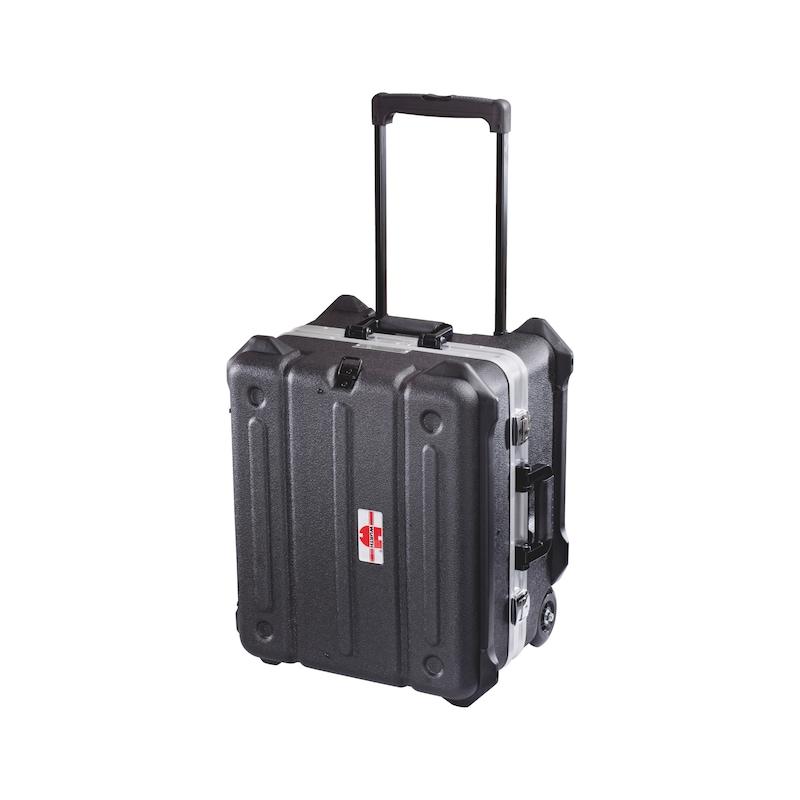 Werkzeugkoffer mit Transportrollen - WZGKOFFR-ROLLEN-HDPE-500X450X370MM