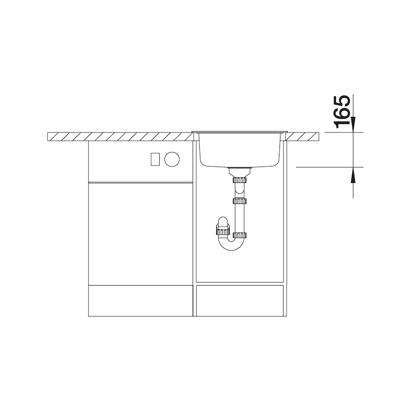 Spüle  Blancorondosol/-IF - 2