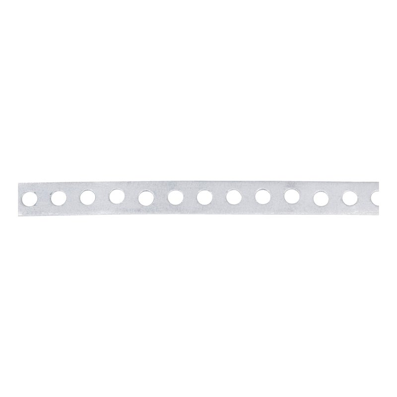 Punched mounting strip, no marginal perforations - 1