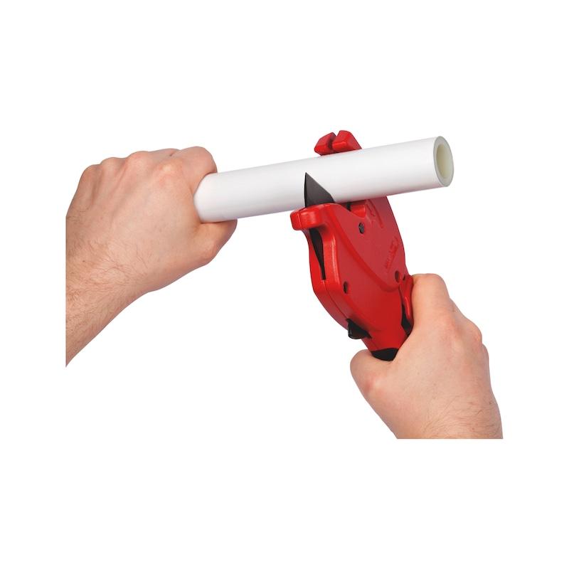 Nožnice na plastové rúrky - OBJIMKA-PLAST-(D0-26MM)