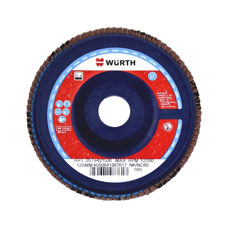 Disque à lamelles AlOx plateau plastique - 1