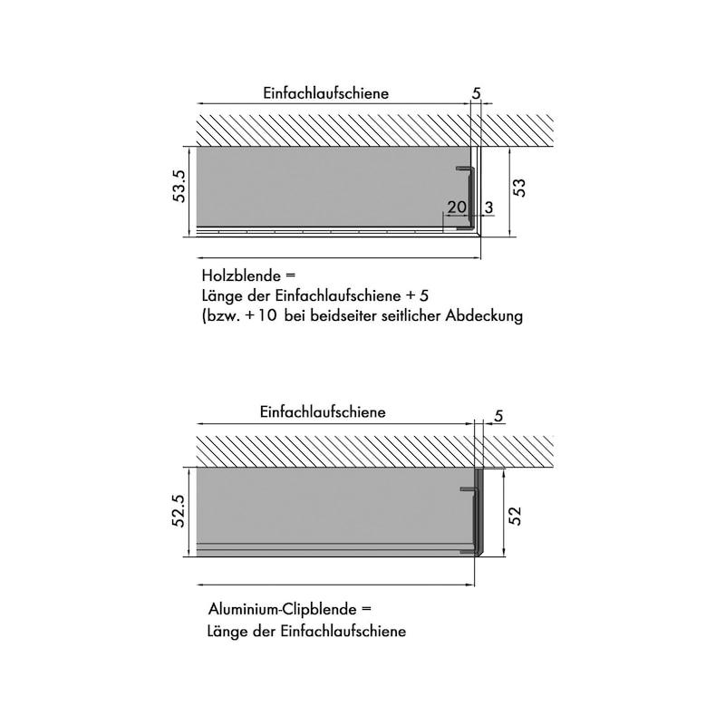 Zimmerschiebetürbeschlag Redoslide Z 60-HNW - 6
