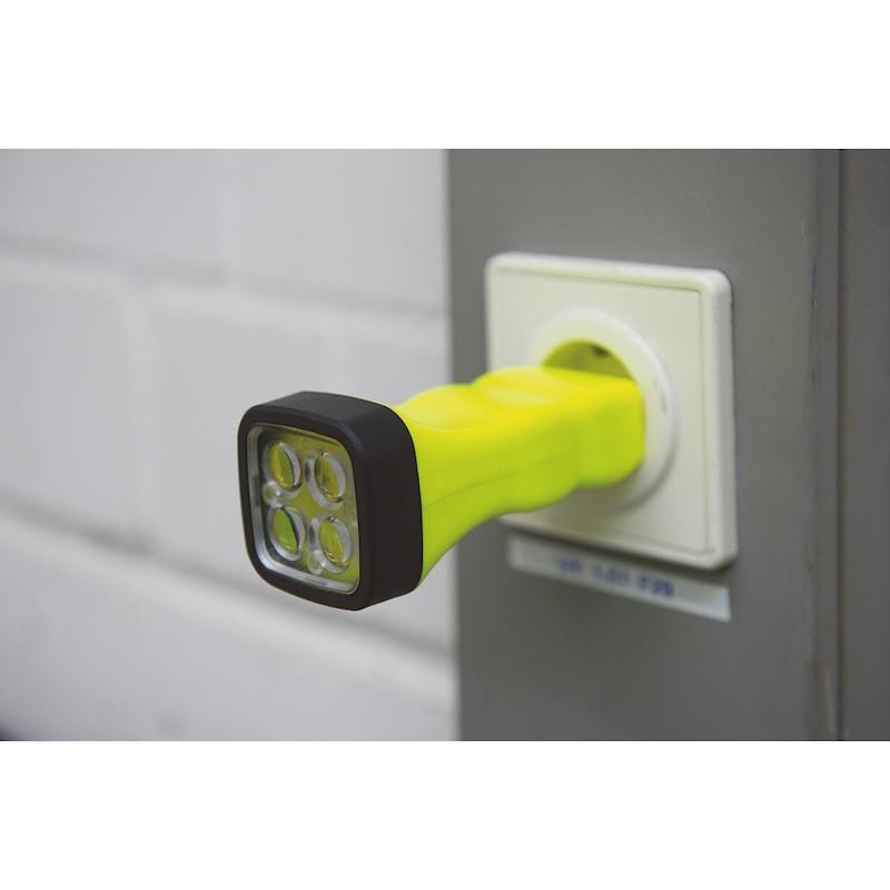 LED-Akku-Taschenlampe W Z1 - 0