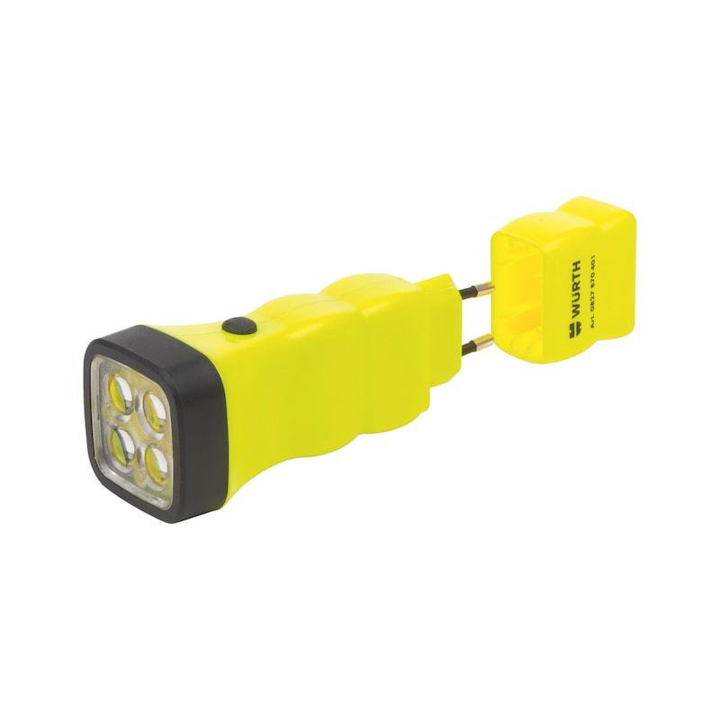 LED-Akku-Taschenlampe W Z1 - 2