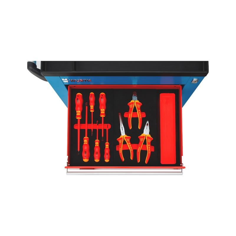 Solution alvéole de tournevis VDE et pinces VDE Pour tiroir de servante S-série ou C-série