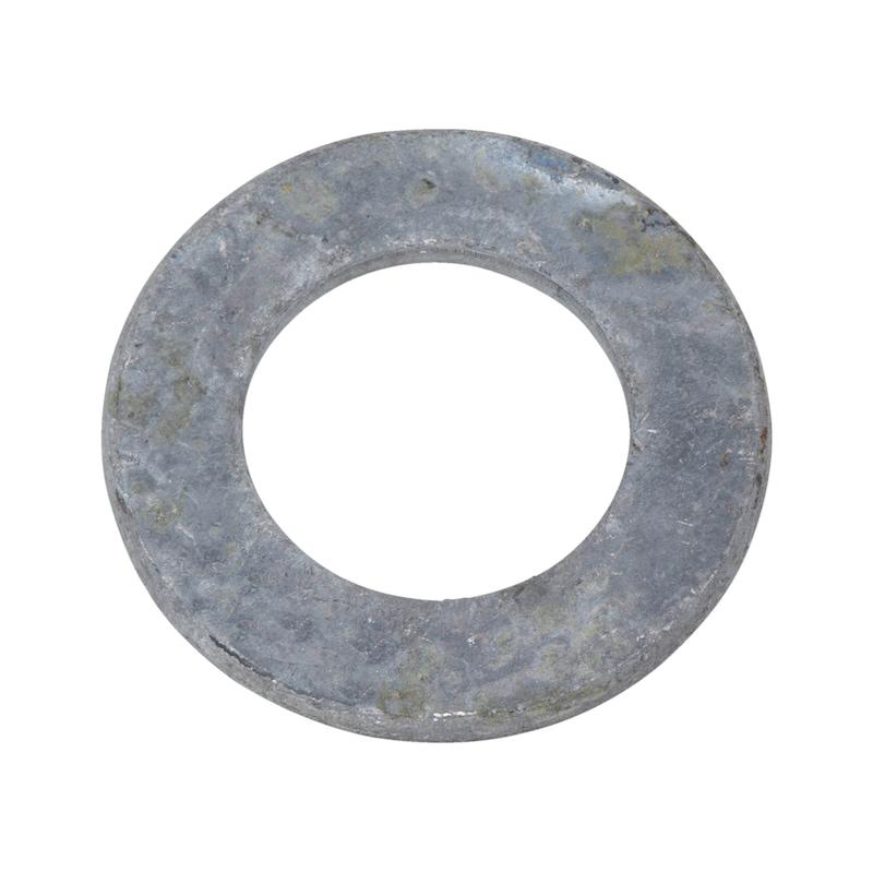 Flache Scheibe mit Fase - 2