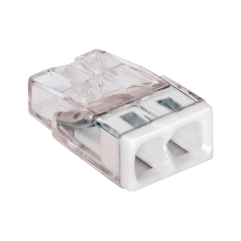 Schraubenlose Reihensteckklemme WAGO COMPACT