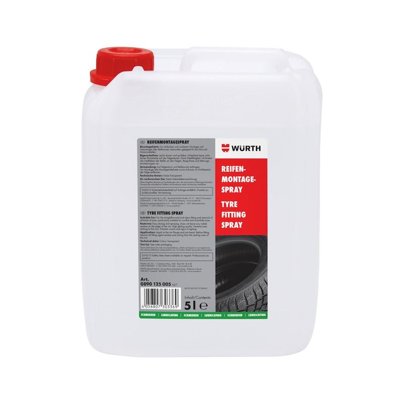 Reifenmontagespray Premium - GLEIT-RFNMNTG-5L