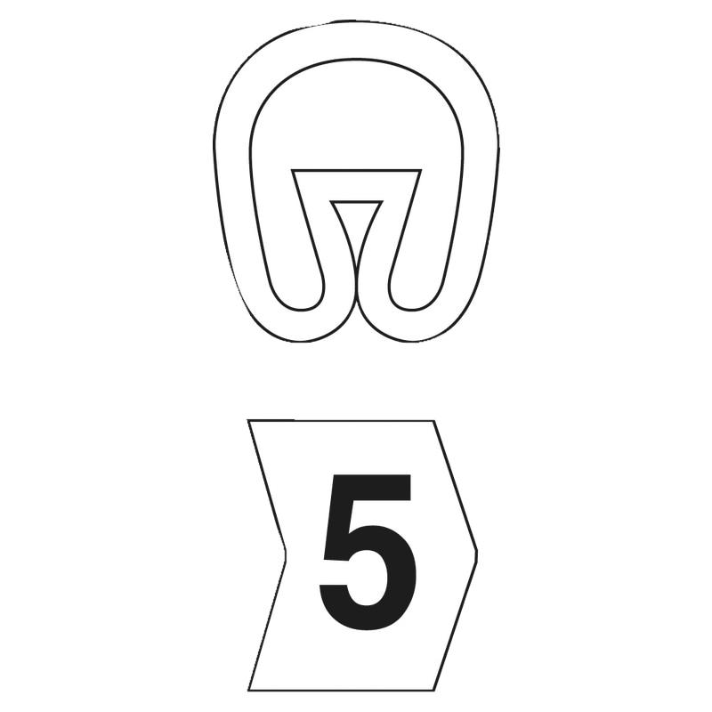 Kennzeichnungsringe PVC - 2