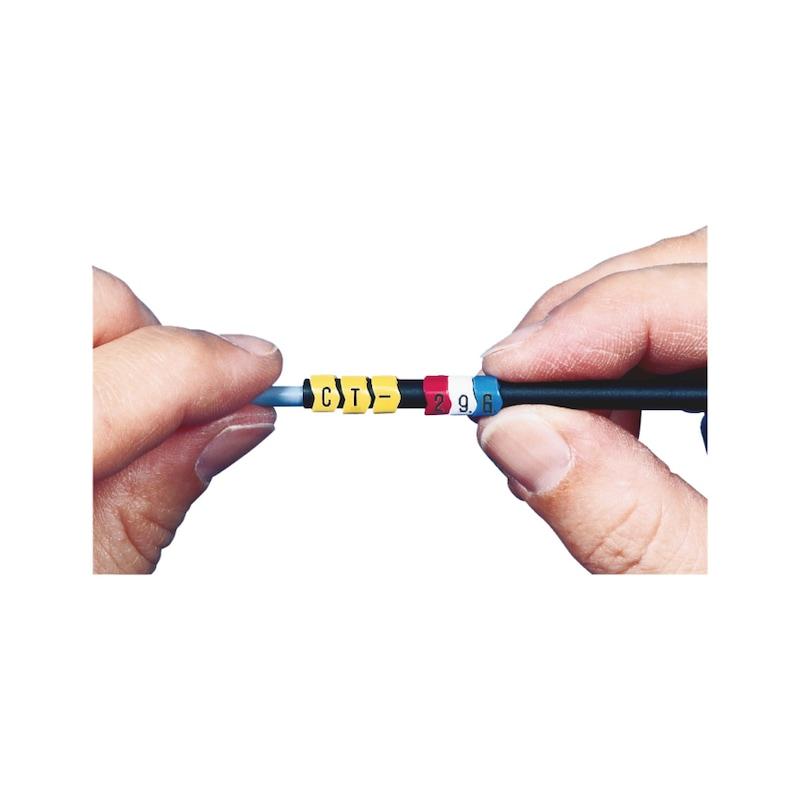 Kennzeichnungsringe PVC - 4