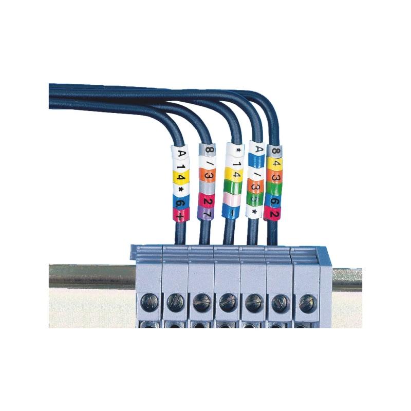 Kennzeichnungsringe PVC - 1