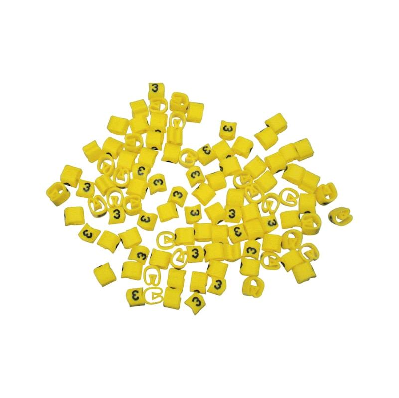 Kennzeichnungsringe PVC - 3