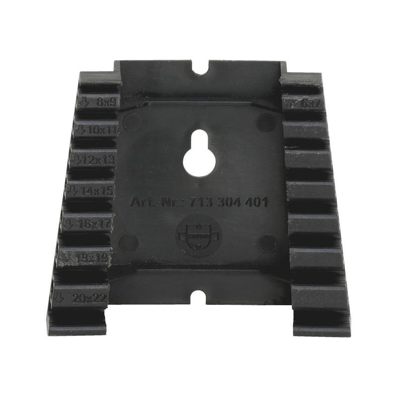 ダブルオープンエンドレンチセット用プラスチックホルダー - スパナーホルダー