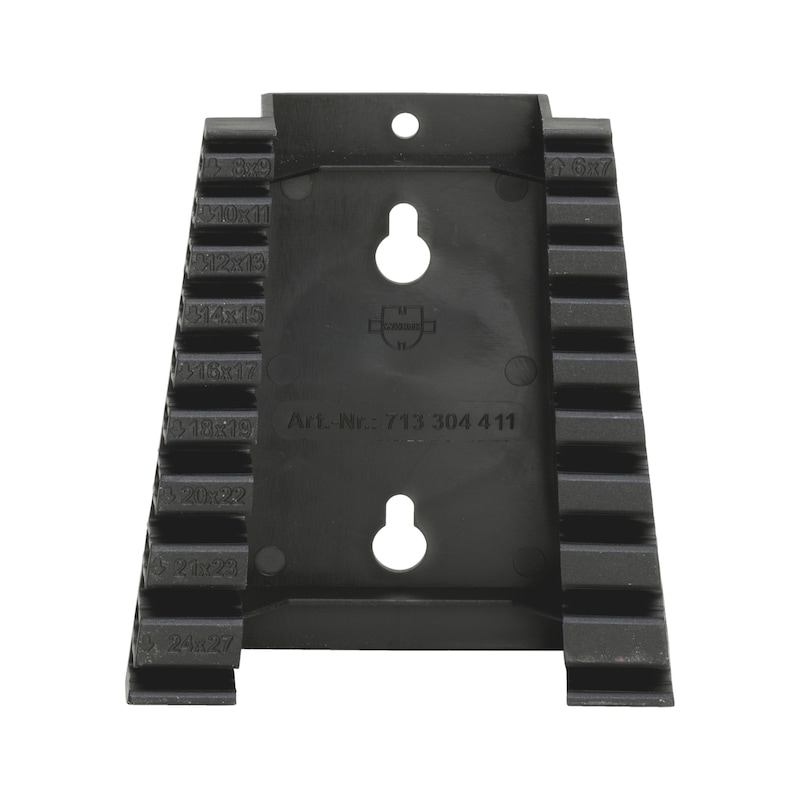 ダブルオープンエンドレンチセット用プラスチックホルダー - レンチホルダー 10 PCS