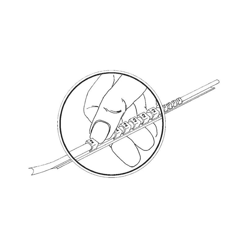 Trägerstäbe ohne Markierer für SNAP-Markierer - 2