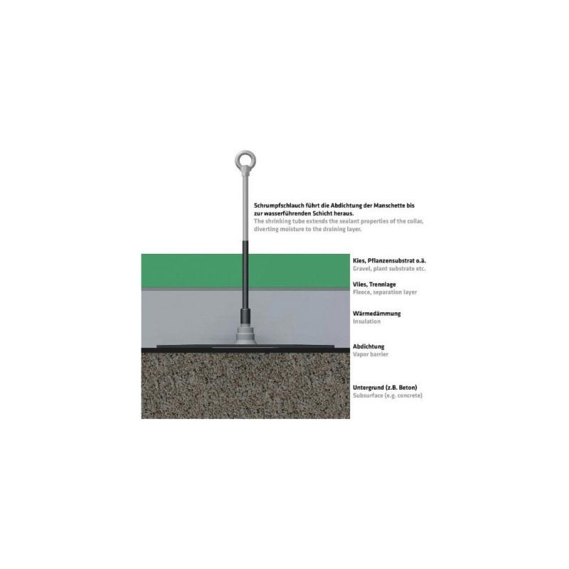 ABS Verlängerung für Abdichtmanschetten - 1