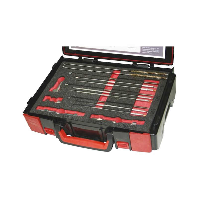 Kit de perçage pour crayons de bougie de préchauffage endommagées M8x1,0 - M9x1,0 - M10x1,0 - M10x1,25 - 1