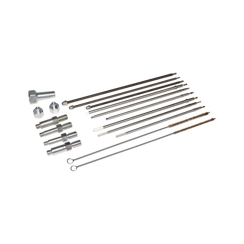 Kit de perçage pour crayons de bougie de préchauffage endommagées M8x1,0 - M9x1,0 - M10x1,0 - M10x1,25 - 8