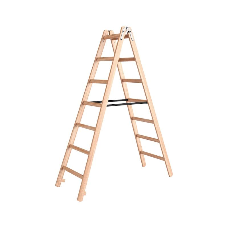Wooden stepladder