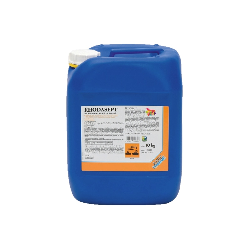 Stalldesinfektionsmittel Rhodasept<SUP>®</SUP>