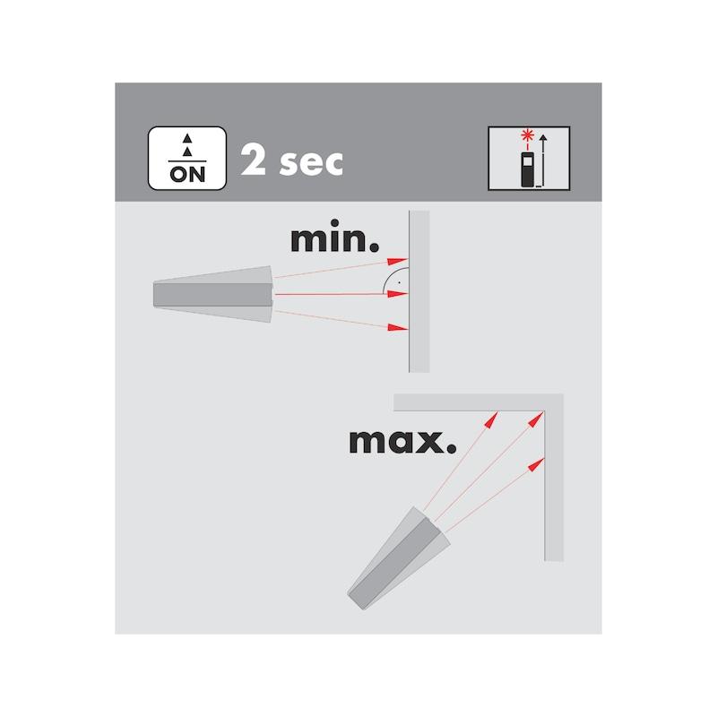 Lazer metre WDM 5-12 - LAZER METRE (WDM5-12) - 100M