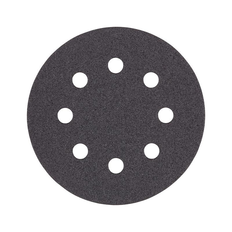 Klett-Trockenschleifpapier rund