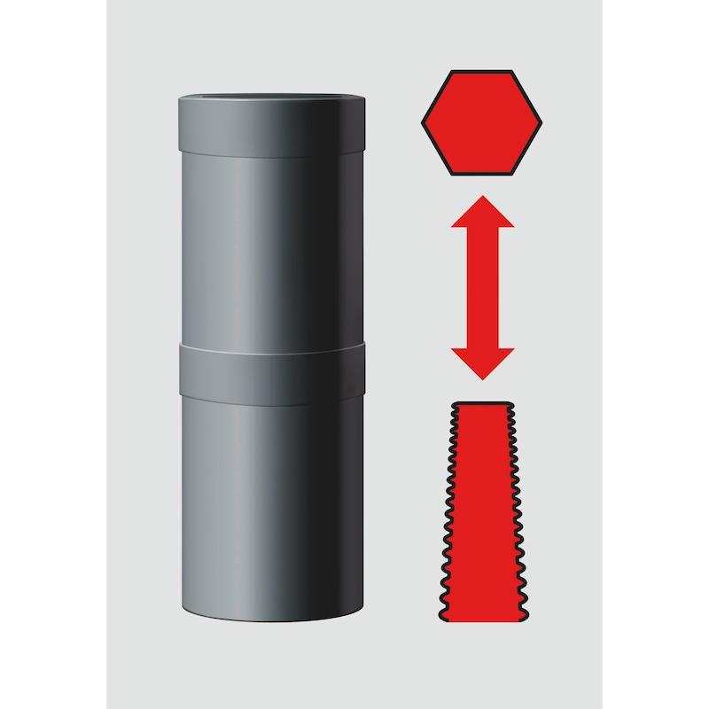 1/2 Zoll-Doppelspiralstecknuss-Set - 4