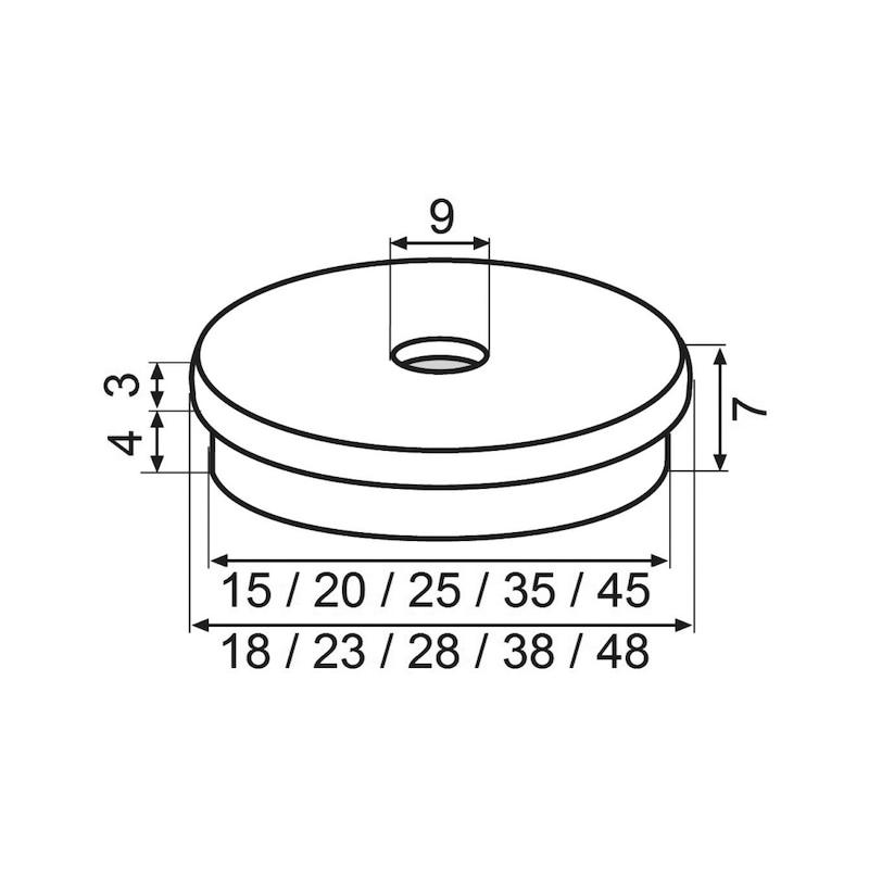 Möbelgleiter Einsatz ULTRASOFT - 2