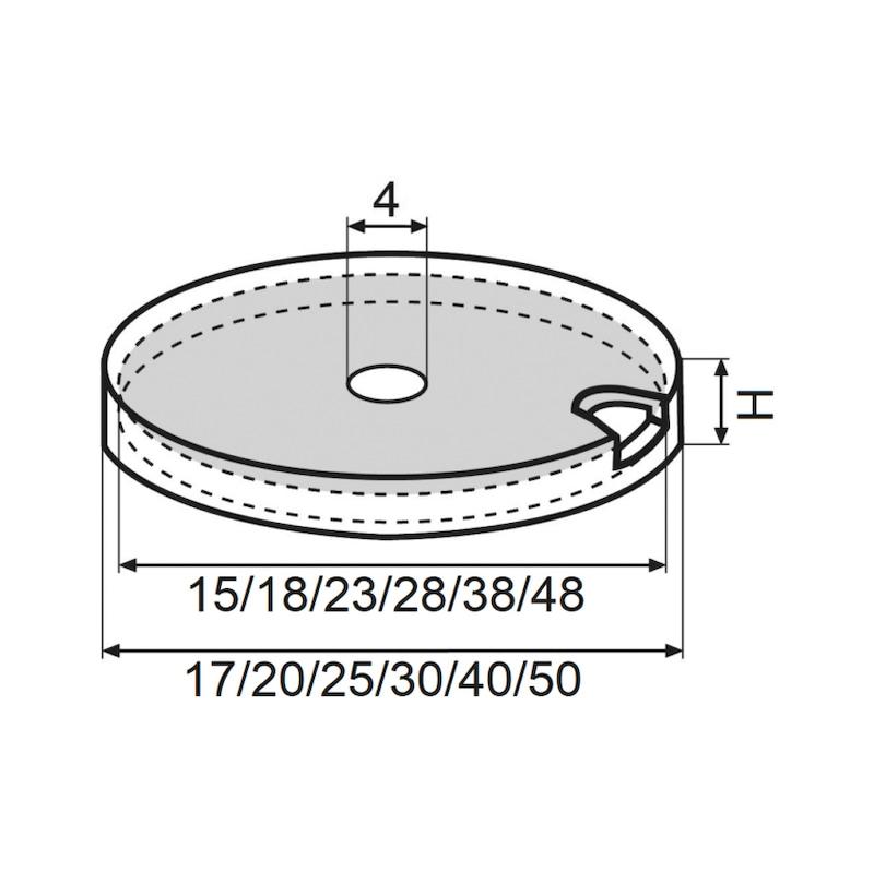 Möbelgleiter Basis-Modul - 0