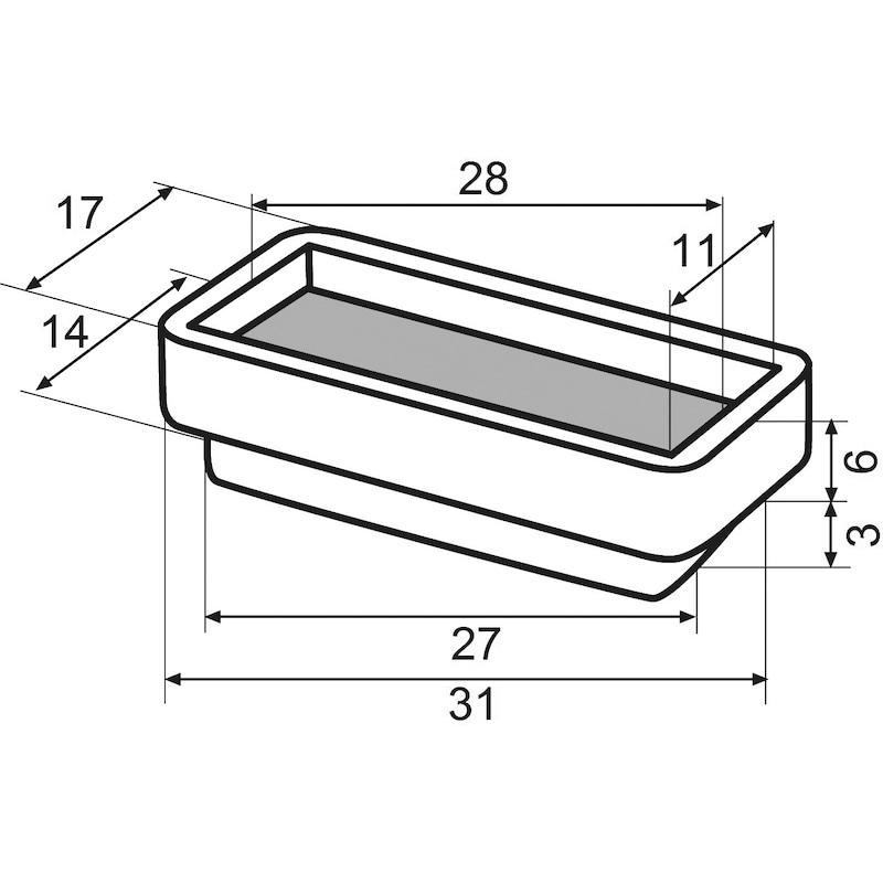 Möbelgleiter Einsatz ULTRASOFT-Gleiter - 2