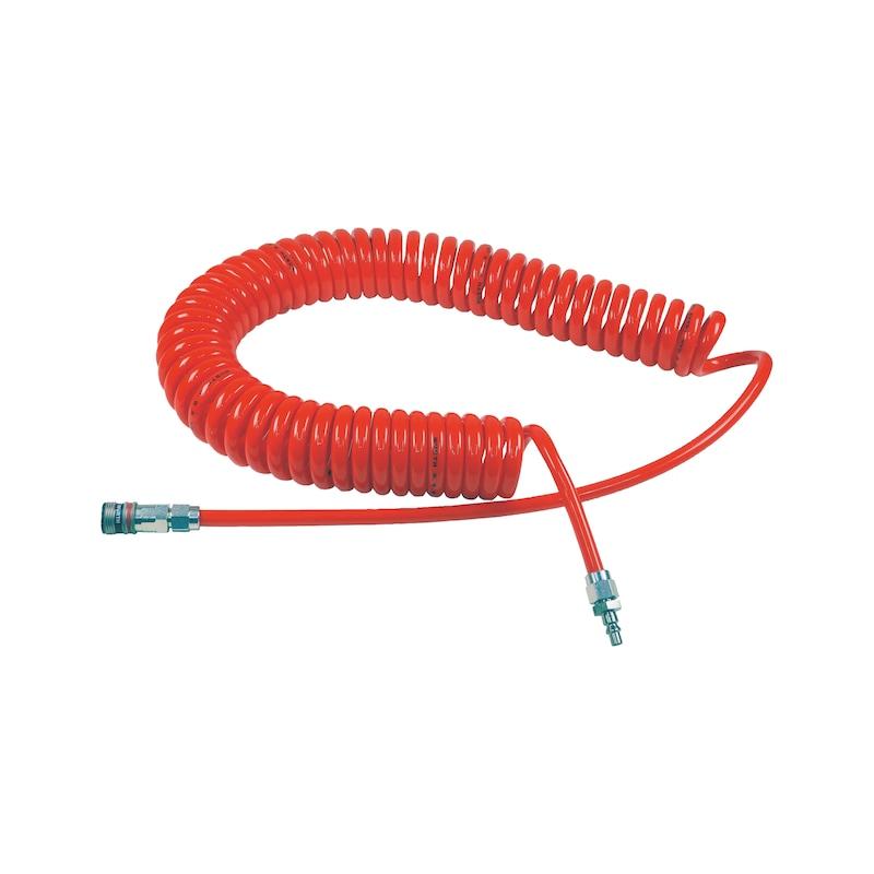PU-Druckluftspiralschlauch wSafe<SUP>®</SUP> 3000 - 1