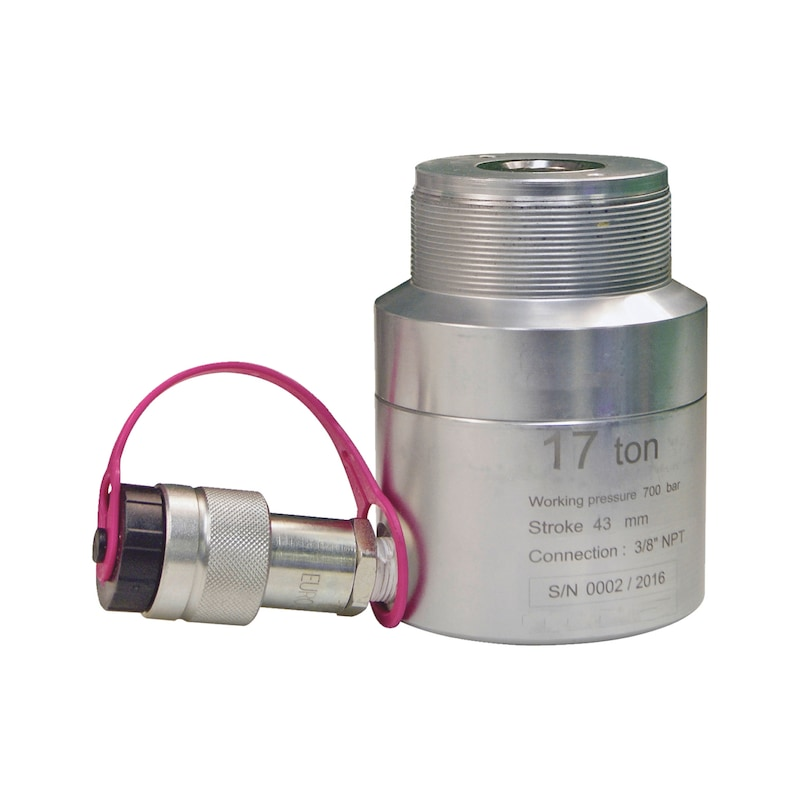 Hohlkolben-Hydraulik-Zylinder, 17 Tonnen Universal - 1