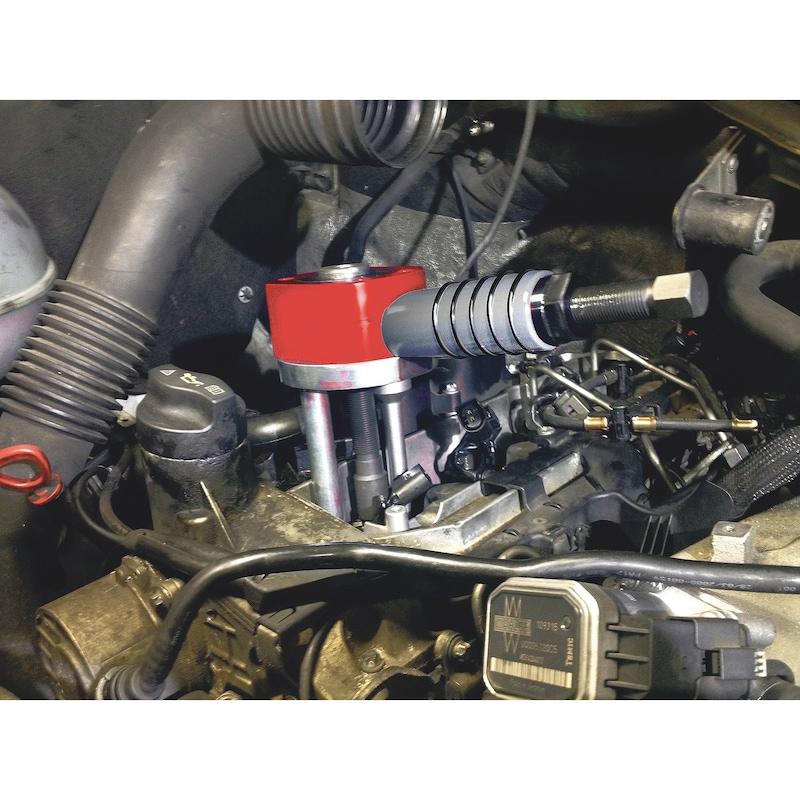 Hohlkolben-Mechadraulik-Zylinder 12 Tonnen Renault, Nissan, Opel - 2