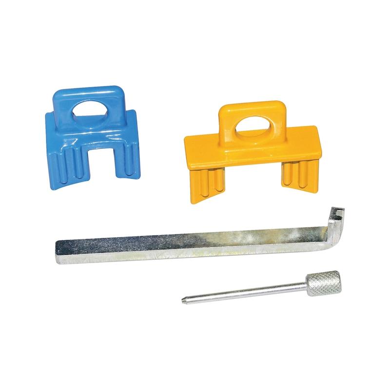 Steuerzeiten-Werkzeug-Satz passend für Saab 1.8I/Opel 1.4 - 2.2, Benzin