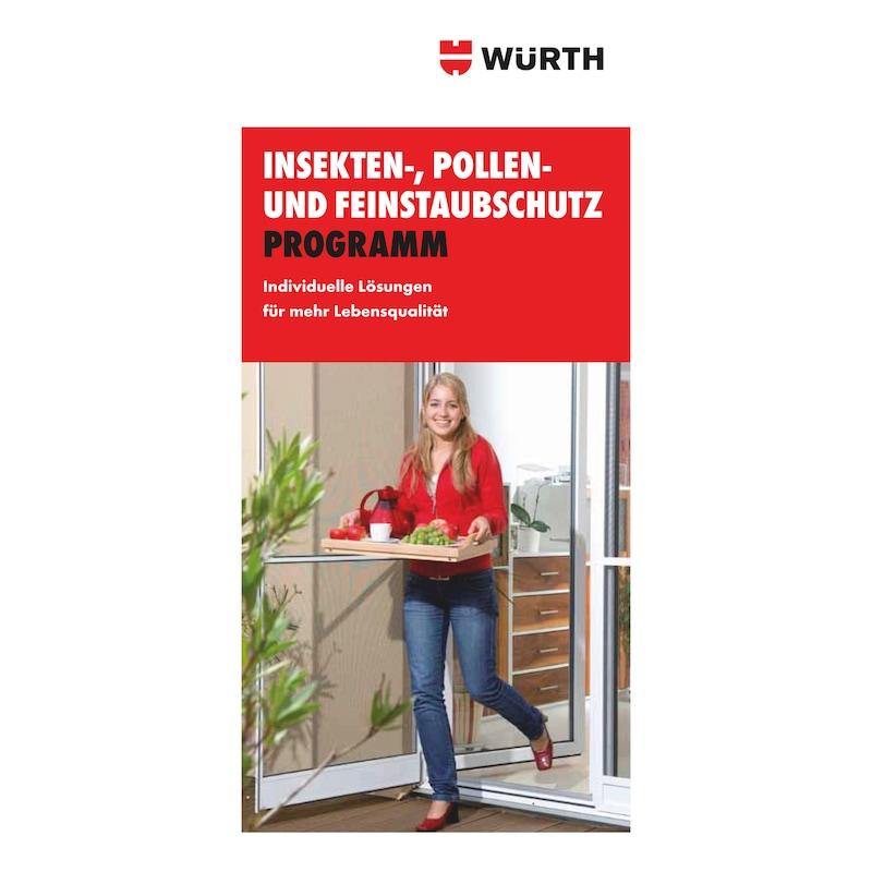 Endkundenflyer Insekten-, Pollen und Feinstaubschutz Programm - 1
