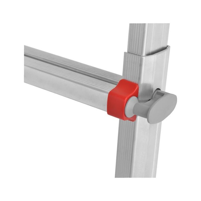 Echelle télescopique en aluminium Standard - ECHELLE MODUL. PRO V2 4 X 4 ECHELONS