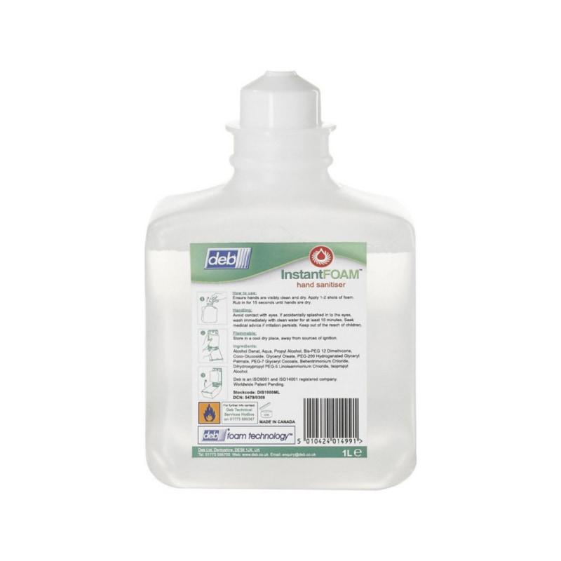Deb instant foam Uiterst doeltreffend handdesinfectiemiddel op alcoholbasis - 1